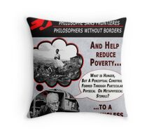Philosophers Without Borders Throw Pillow