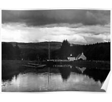 Cullochy Lock Keeper's house. Poster