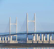 2nd Severn Bridge by Dawn B Davies-McIninch