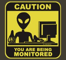 Caution! you are under monitor by NewSignCreation