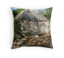 Abandoned Trullo Throw Pillow