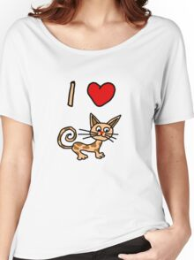 I LOVE CAT 2 Women's Relaxed Fit T-Shirt