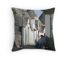 As time goes by (Alberabello)... Throw Pillow
