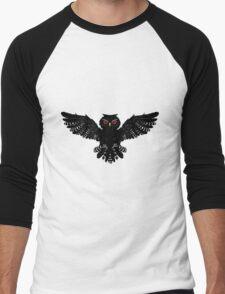 Black Owl 2 Men's Baseball ¾ T-Shirt