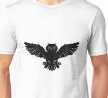 Black Owl 2 Unisex T-Shirt
