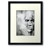 The sound of silence. Framed Print