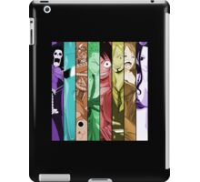 one piece luffy nami robin chopper sanji zoro usopp brook franky anime manga shirt iPad Case/Skin