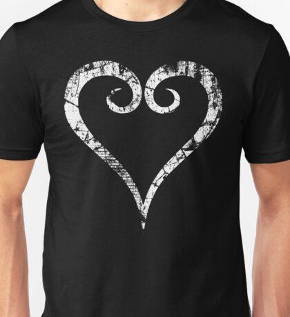 Kingdom Hearts Heart grunge Unisex T-Shirt
