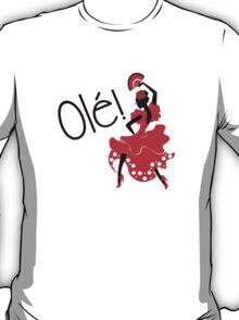 Flamenco Ole Spanish Dancer T-Shirt