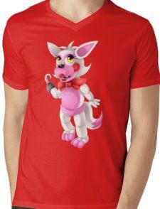 Toy Foxy Mens V-Neck T-Shirt