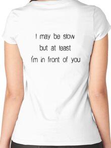 Running Motivation Women's Fitted Scoop T-Shirt