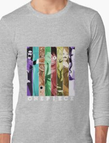 one piece luffy nami robin chopper sanji zoro usopp brook franky anime manga shirt Long Sleeve T-Shirt