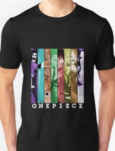 one piece luffy nami robin chopper sanji zoro usopp brook franky anime manga shirt Unisex T-Shirt