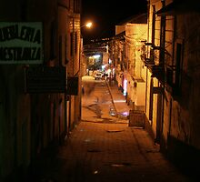 Sorata at night by Michael Dunn