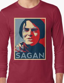 Carl Sagan Long Sleeve T-Shirt