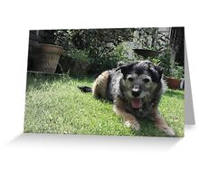 Always there by my side. Greeting Card