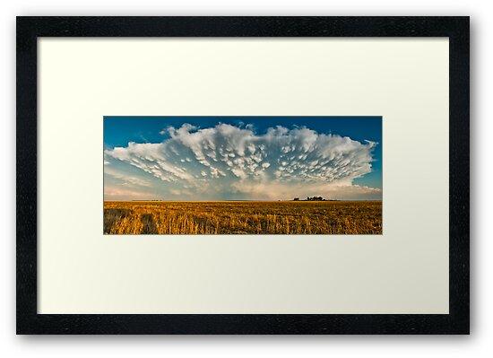 Severe Thunderstorm - Healy, Kansas by Troy Barrett