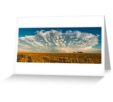 Severe Thunderstorm - Healy, Kansas Greeting Card