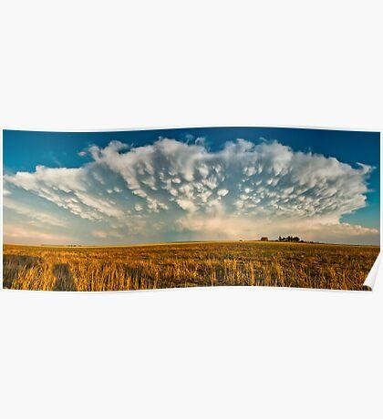 Severe Thunderstorm - Healy, Kansas Poster