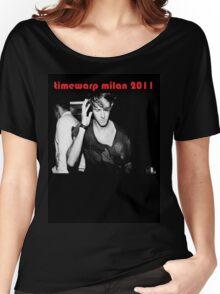 Richie Hawtin Timewarp Milan 2011 Women's Relaxed Fit T-Shirt