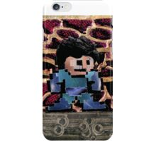 Mega Man vs Quickman iPhone Case/Skin