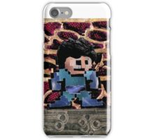 Mega Man vs Quickman iPhone Case/Skin