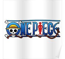 one piece logo Poster