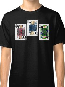 The Three Cards - Markiplier, PewDiePie and Jacksepticeye Classic T-Shirt