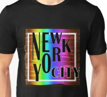 New York typography Unisex T-Shirt