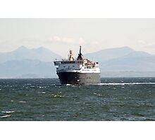 The ferry linking mainland Scotland to the islands Photographic Print