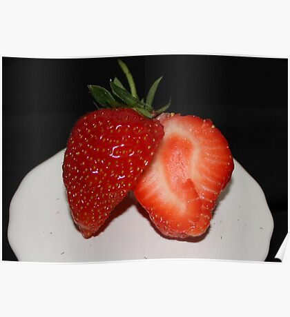 Sweet and Juicy Strawberry Poster