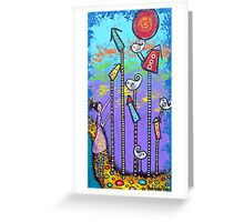 For The Love Of Birds Greeting Card