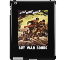 Buy War Bonds -- WW2 Propaganda iPad Case/Skin