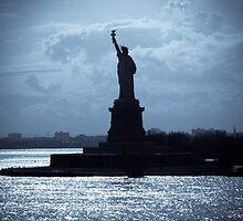 Lady Liberty  by Papandrea Photography