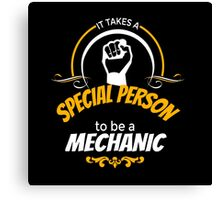 Special Person - Mechanic Canvas Print