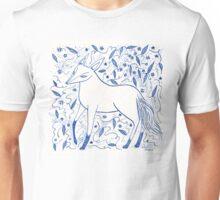 Blue Star Fox Unisex T-Shirt
