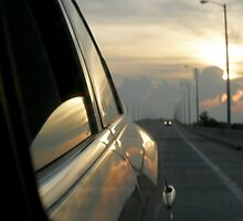 Traveling Sunset II by Trish Nicholas