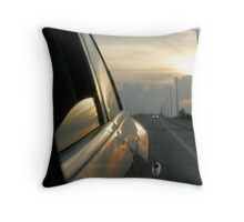 Traveling Sunset II Throw Pillow