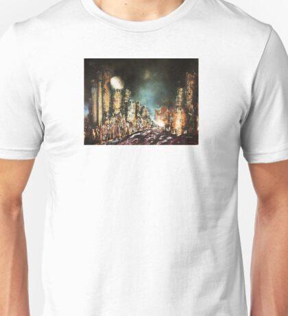 Castle Towers Moonrise Unisex T-Shirt
