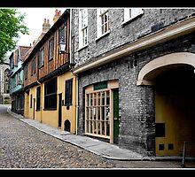 Elm Hill, Norwich, UK by Gordon Holmes