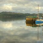 The Boat In The Harbour by VoluntaryRanger