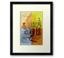 Shaping Pencils and other Things Framed Print