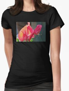 Sweet Pea in Evening Light Womens Fitted T-Shirt