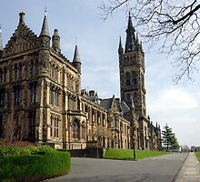 Glasgow University, Glasgow Scotland by John Butterfield