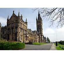 Glasgow University, Glasgow Scotland Photographic Print