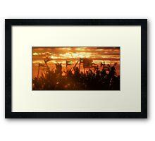 Kingdom of Sunset Framed Print