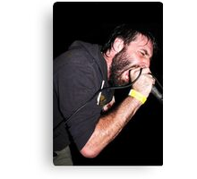 Scream 'til your lungs give out! Canvas Print