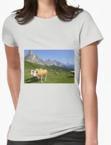 Passo Giau Womens Fitted T-Shirt