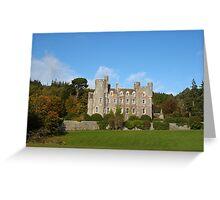 Castlewellan Castle, Northern Ireland Greeting Card