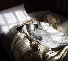 Crumpled Bed by DriftWords